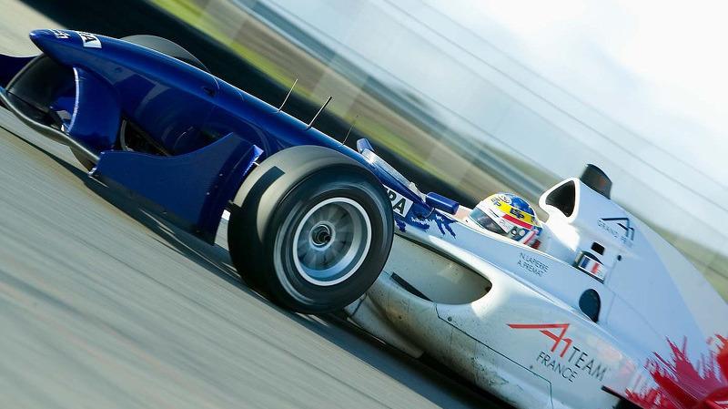 Nicolas Lapierre A1 GP Team France Laguna Seca 2006