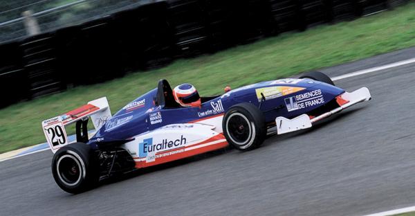 Julien Gilbert Tech 1 Racing Formule Renault